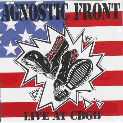 Agnostic Front – Live At CBGB LP АКЦИЯ! СКИДКА 20%!