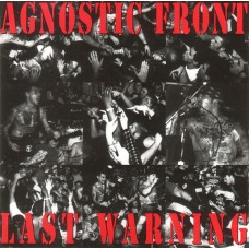 Agnostic Front ‎– Last Warning LP Red Vinyl Ltd Ed 500 copies АКЦИЯ! СКИДКА 20%!