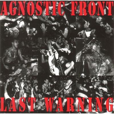 Agnostic Front – Last Warning LP Red Vinyl Ltd Ed 500 copies АКЦИЯ! СКИДКА 20%!