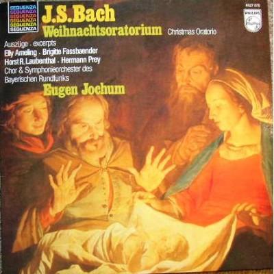 Bach - Eugen Jochum - Elly Ameling / Brigitte Fassbaender / Horst Laubenthal / Hermann Prey - Chor Und Symphonie-Orchester Des Bayerischen Rundfunks – Weihnachts-Oratorium - Christmas Oratorio