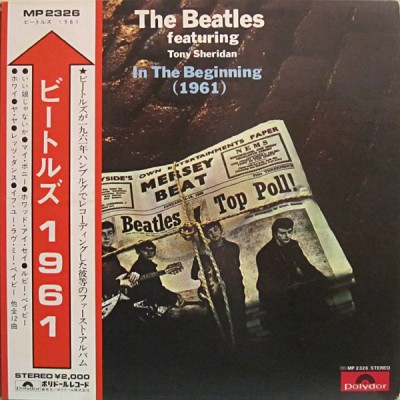 The Beatles featuring Tony Sheridan ‎– In The Beginning (1961)