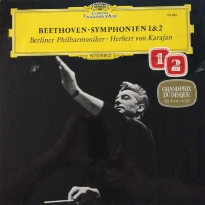 Beethoven - Herbert von Karajan - Berliner Philharmoniker – Symphonien 1 & 2