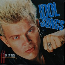 Billy Idol ‎–  Idol Songs - 11 Of The Best