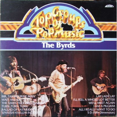 The Byrds ‎– Top Groups Of Pop Music