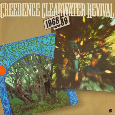 Creedence Clearwater Revival – 1968 / 1969: Creedence Clearwater Revival & Bayou Country