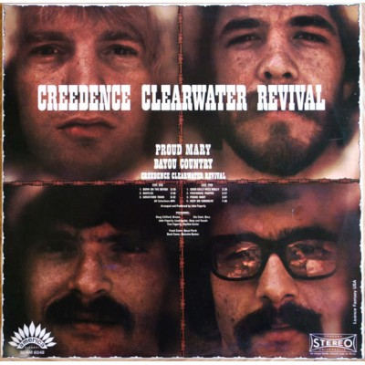 Creedence Clearwater Revival – Proud Mary / Bayou Country