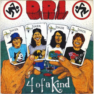 D.R.I. ‎– 4 Of A Kind