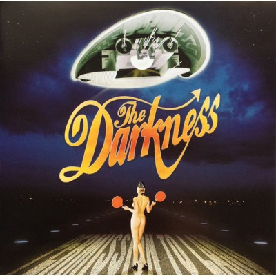 The Darkness ‎– Permission To Land (poster)