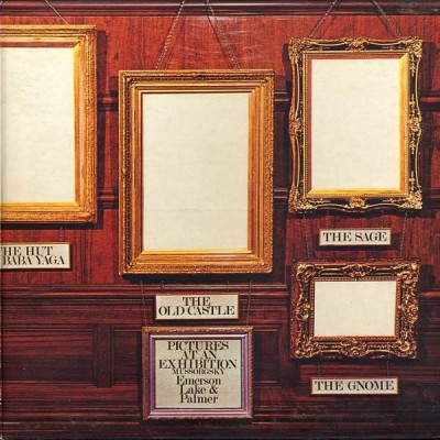Emerson, Lake & Palmer ‎– Pictures At An Exhibition