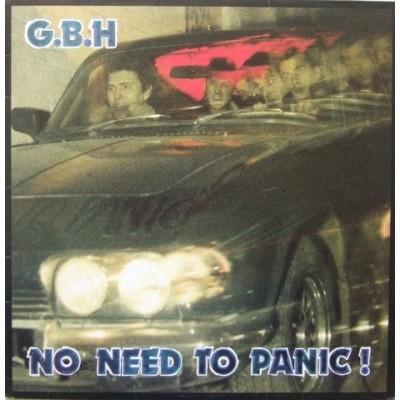 GBH – No Need To Panic