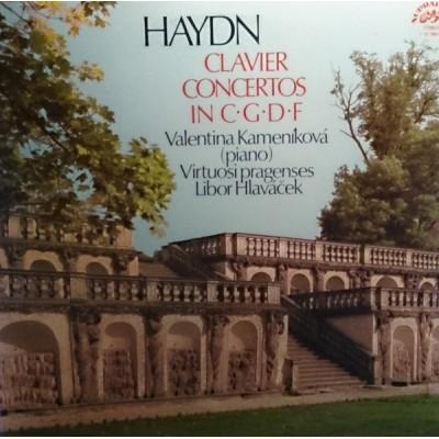 Joseph Haydn, Valentina Kameníkova, Libor Hlavacek – Concertos For Clavier And Orchestra