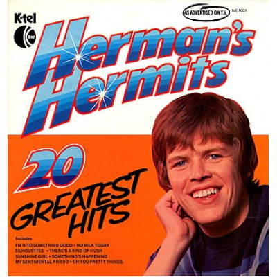 Herman's Hermits ‎– 20 Greatest Hits