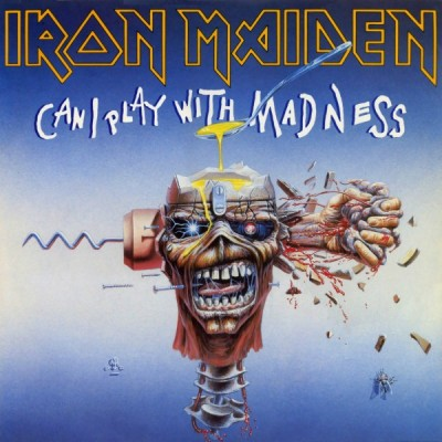Iron Maiden ‎– Can I Play With Madness