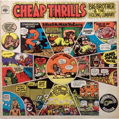 Big Brother & The Holding Company ‎(Janis Joplin) – Cheap Thrills