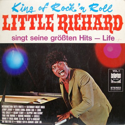 Little Richard ‎– King Of Rock'n Roll Little Richard Sings His Greatest Hits - Life