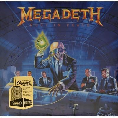 Megadeth – Rust In Peace LP 2008 Reissue