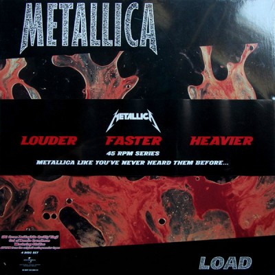 Metallica - Load BOX 4 LP