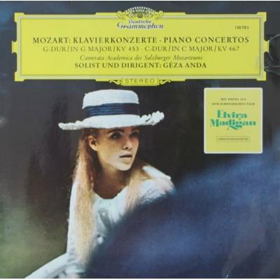 Mozart, Camerata Academica Des Salzburger Mozarteums, Géza Anda – Klavierkonzerte · Piano Concertos - G-dur / In G Major / KV 453 · C-dur / In C Major / KV 467