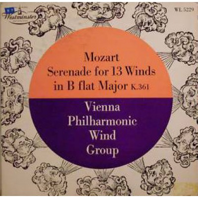 Mozart - Serenade For 13 Winds - Vienna Philharmonic Wind Group