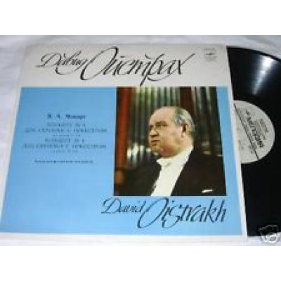 David Oistrach David Oistrakh Wolfgang Amadeus Mozart – Concerto N. 1 For Violin And Orchestra K. 207 / Concerto N. 2 For Violin And Orchestra K. 211