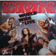 Scorpions ‎–  World Wide Live 2LP + CD Deluxe Edition
