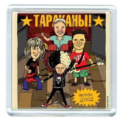 Магнит Тараканы! - Состав-2002 на сцене 2017