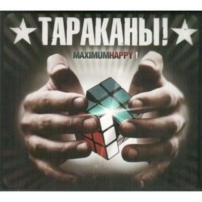 CD Тараканы! - Maximum Happy I c автографами