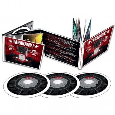 2CD+DVD Тараканы! – Larger Than… LIVE