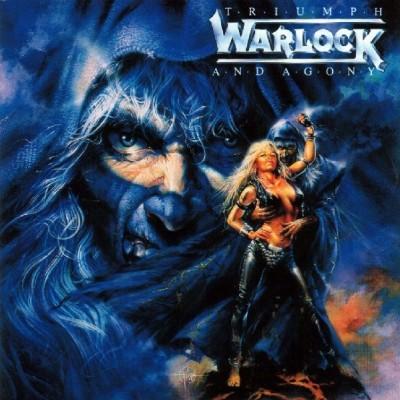Warlock – Triumph And Agony LP 1987 Gatefold