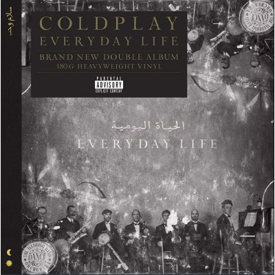 Coldplay - Everyday Life 2LP Gatefold NEW 2019