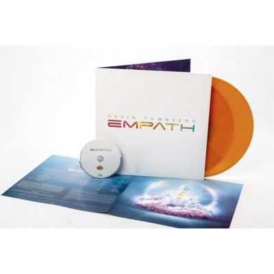 Devin Townsend ‎– Empath 2LP+CD Gatefold  Ltd Ed Orange Vinyl NEW 2019