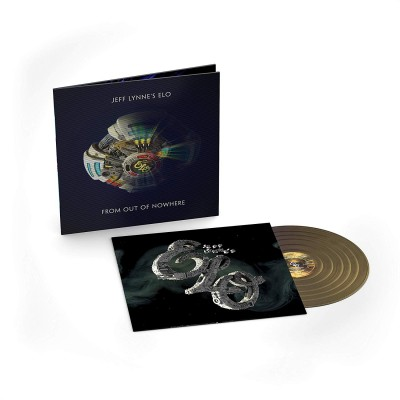 Jeff Lynne's ELO (Electric Light Orchestra) - From Out Of Nowhere LP Ltd Ed Deluxe Edition Metallic Gold Vinyl 3D Cover NEW 2019 Последний экземпляр