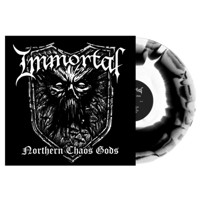 Immortal - Northern Chaos Gods LP 2018 NEW Black White Splatter Vinyl Ltd Ed 500 Copies