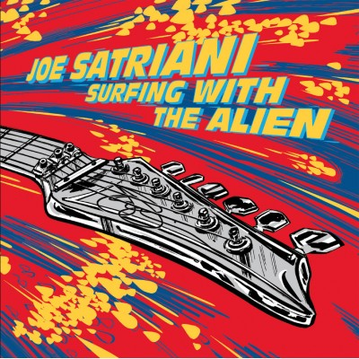 Joe Satriani - Surfing With The Alien (Deluxe) 2LP Ltd Ed Red & Yellow Vinyl NEW 2019