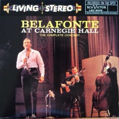 Harry Belafonte – Belafonte At Carnegie Hall: The Complete Concert 2LP
