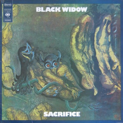 Black Widow  ‎– Sacrifice LP Gatefold
