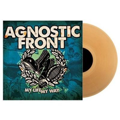 Agnostic Front - My Life My Way LP Yellow Beer Vinyl Ltd Ed 500 copies АКЦИЯ! СКИДКА 20%!