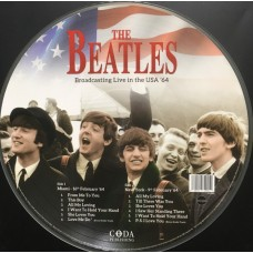 Beatles – Broadcasting Live In The USA '64 PICTURE DISC