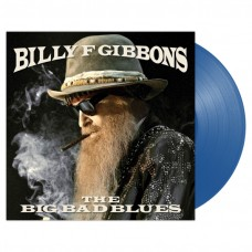 Billy F Gibbons (ZZ Top) - The Big Bad Blues LP 2018 Blue Vinyl