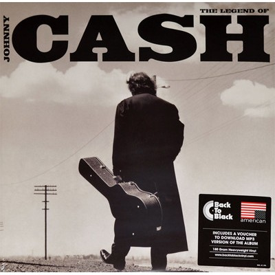 Johnny Cash – The Legend Of Johnny Cash 2LP