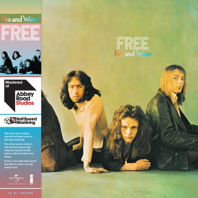 Free ‎– Fire And Water - ABBEY ROAD remastering