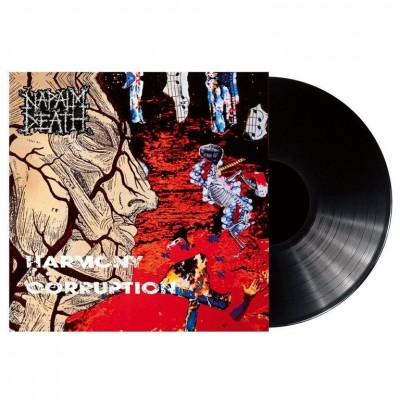 Napalm Death ‎– Harmony Corruption LP 2018 Reissue