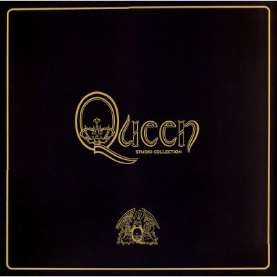 Queen - Studio Collection - MEGA-BOX 15LP + BOOK!