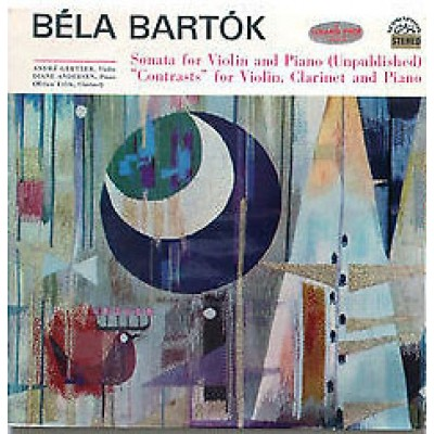"""Bartók – Sonata / """"Contrasts"""""""