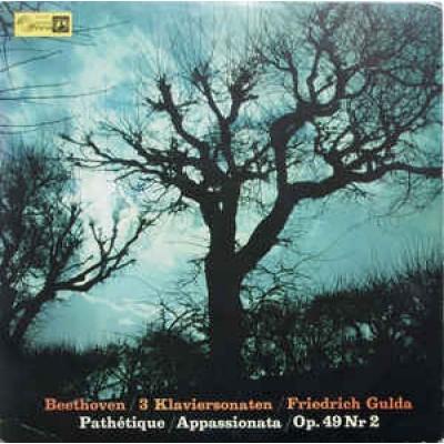 Friedrich Gulda / Ludwig Van Beethoven – 3 Klaviersonaten