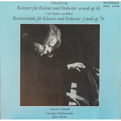 Edvard Grieg – Klavierkonzert A-Moll Op. 16 / Konzerstück