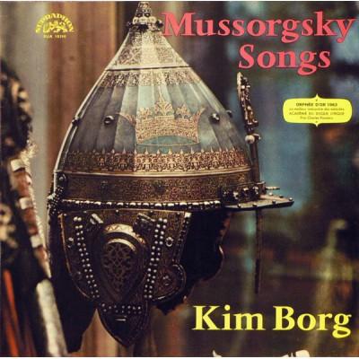 Modest Mussorgsky, Kim Borg – Songs