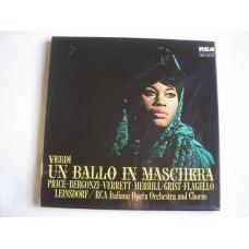 Verdi - Leinsdorf / RCA Italiana Symphony Orchestra / RCA Italiana Symphony Chorus – Un Ballo In Maschera