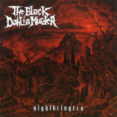 The Black Dahlia Murder - Nightbringers LP Clear Vinyl Ltd Ed 300 Copies