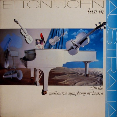 Elton John With The Melbourne Symphony Orchestra ‎– Live In Australia 2LP